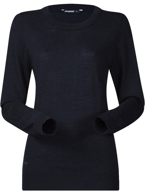 Bergans Fivel Wool Long Sleeve Women Dark Blue Mel